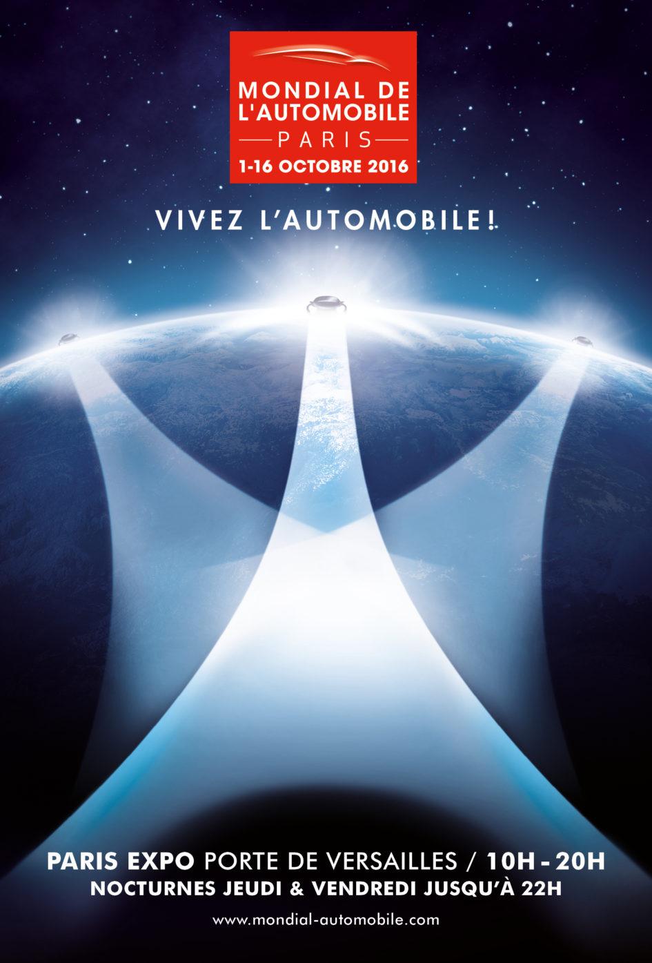Mondial Automobile 2016 - poster