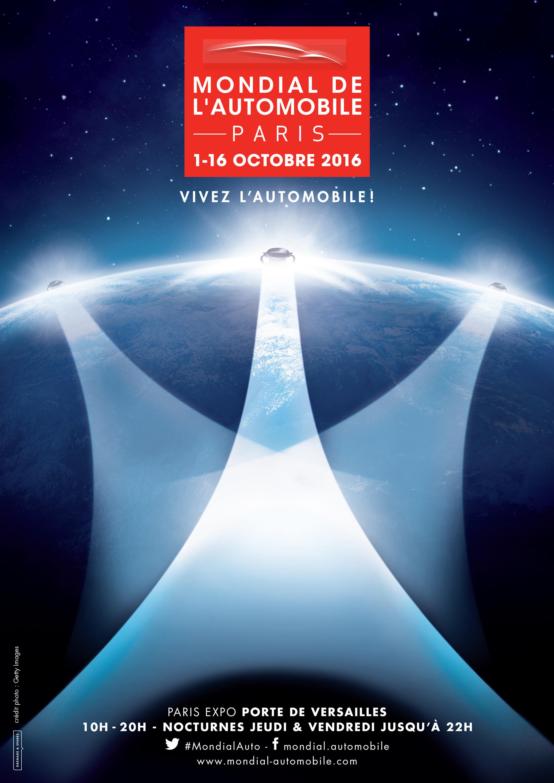 Mondial de l'Automobile 2016 - poster