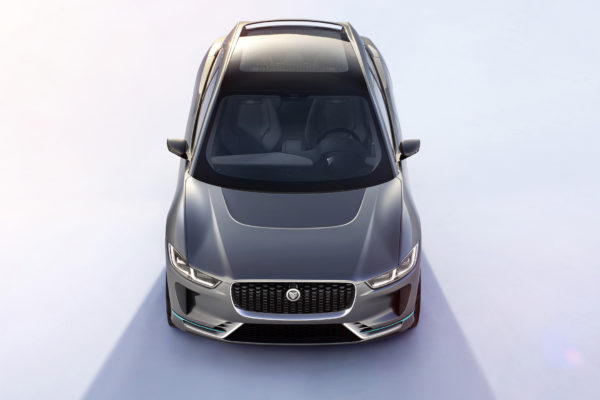 Jaguar I-PACE Concept - 2016 - front-face top view / face-avant toit