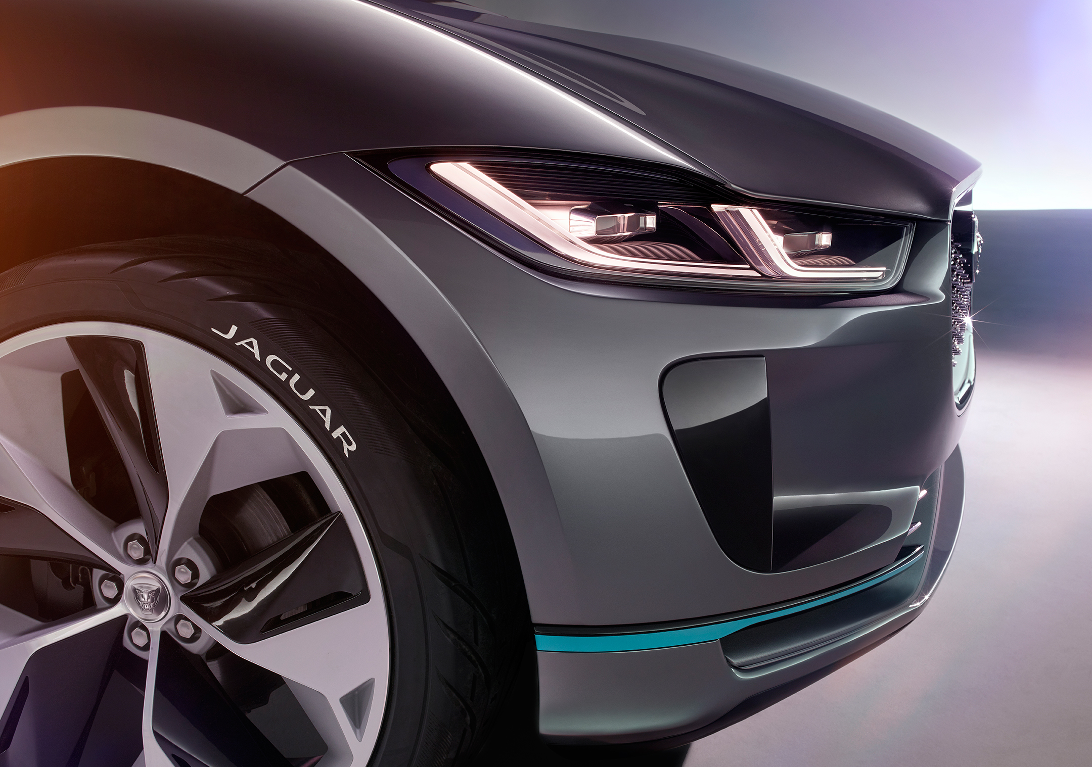 Jaguar I-PACE Concept - 2016 - front light