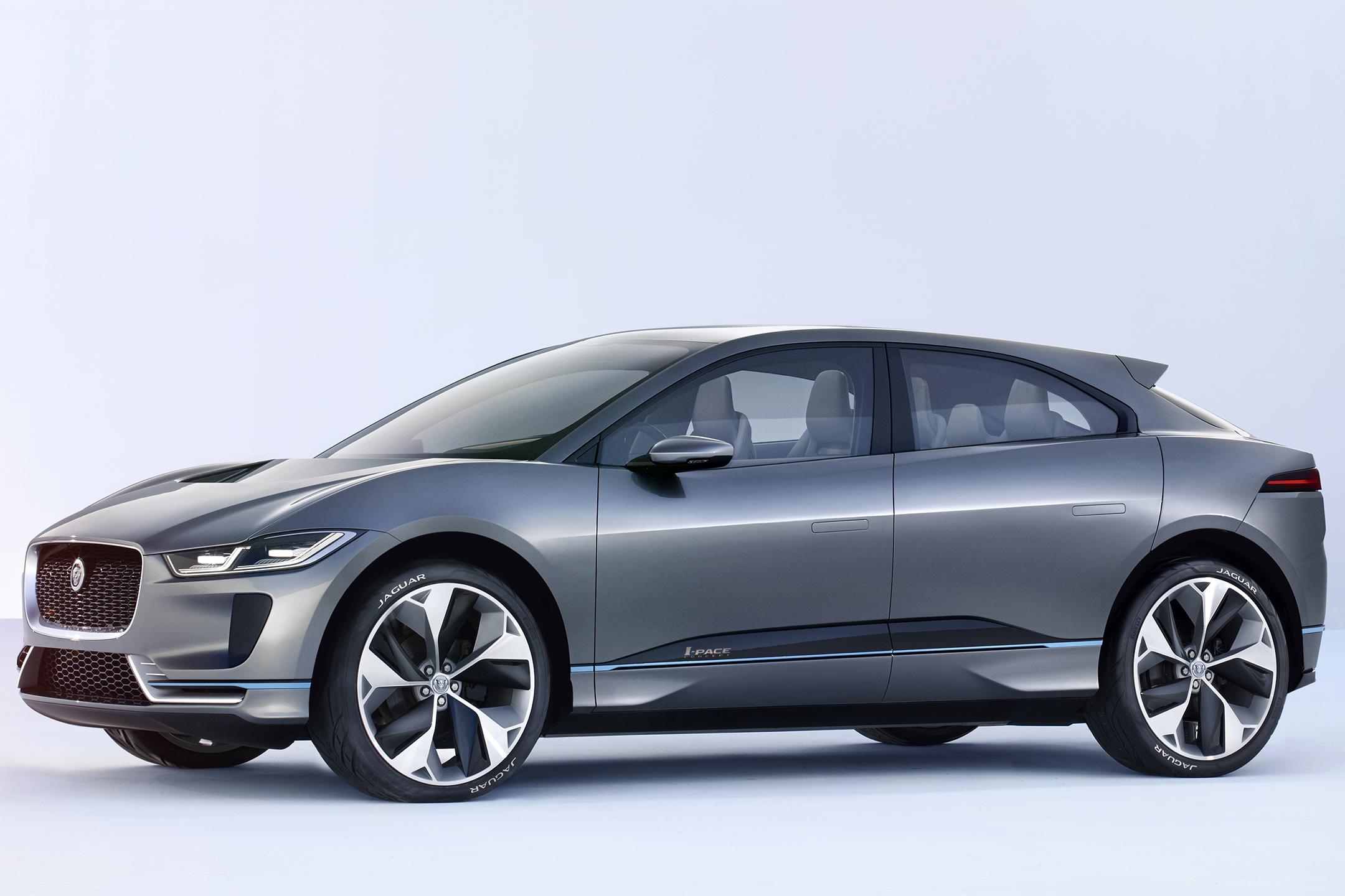 Jaguar I-PACE Concept - 2016 - front side-face / profil avant