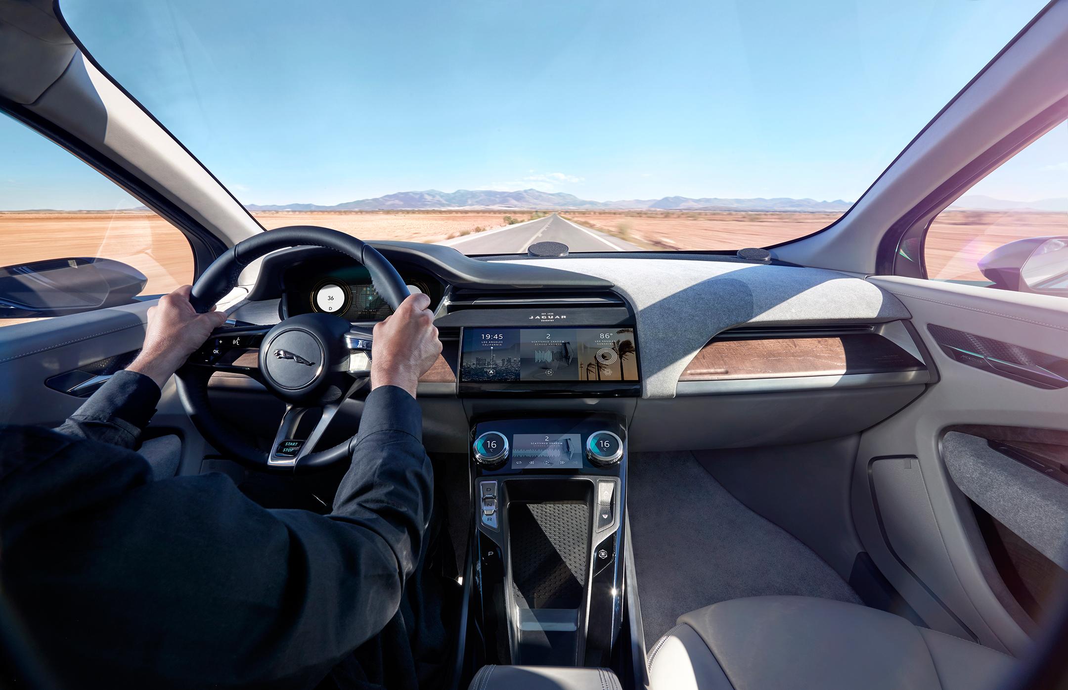 Jaguar I-PACE Concept - 2016 - interior / intérieur