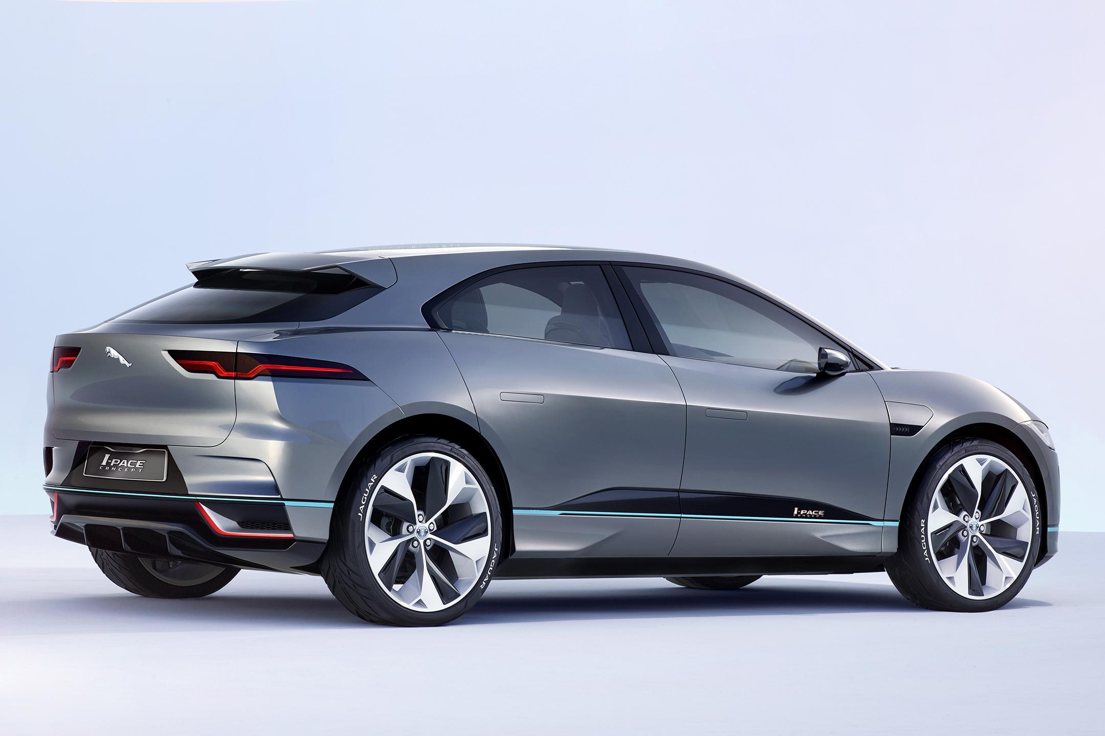 Jaguar I-PACE Concept - 2016 - rear side-face / profil arrière