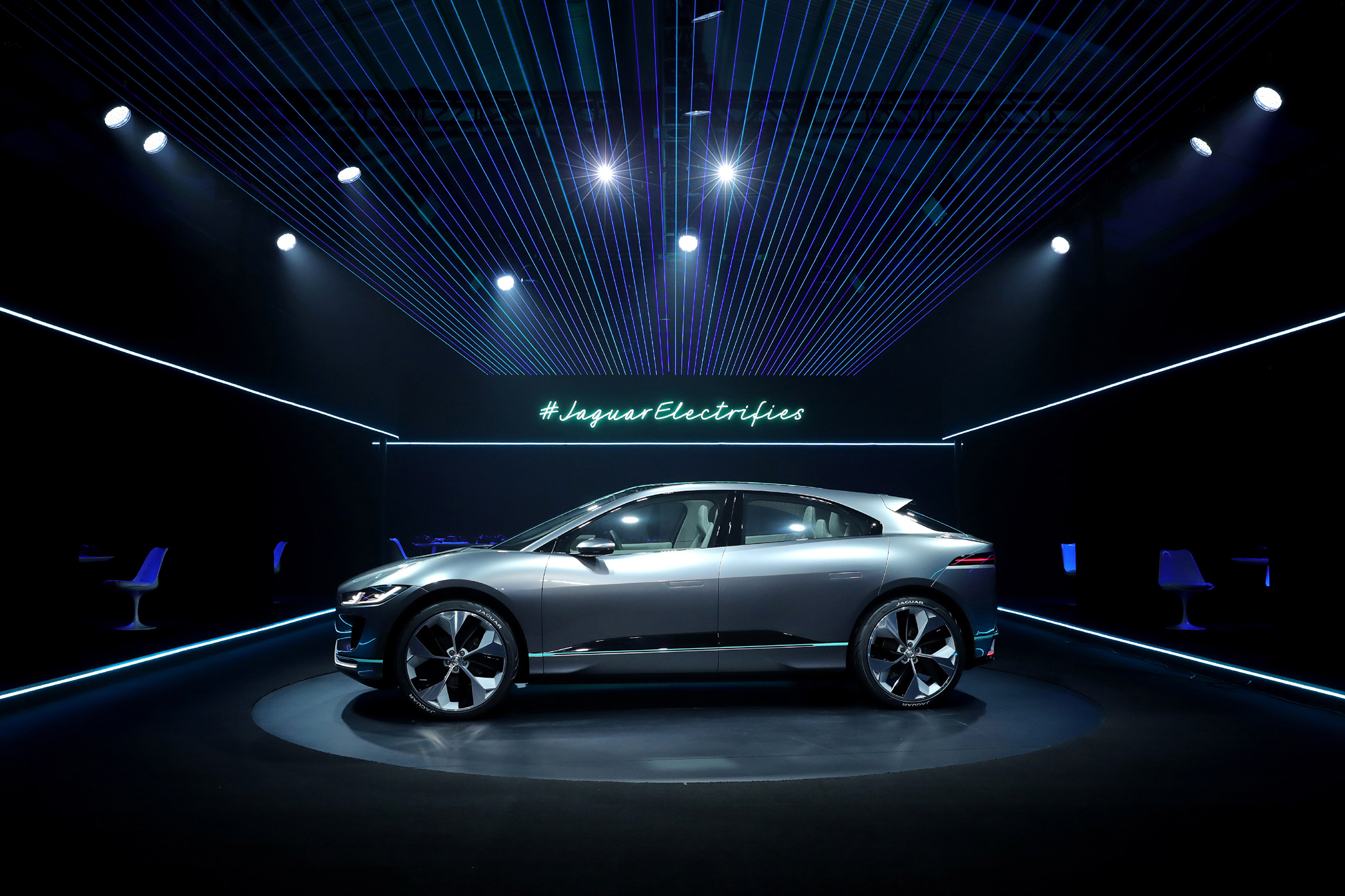 Jaguar I-PACE Concept - 2016 - reveal cover