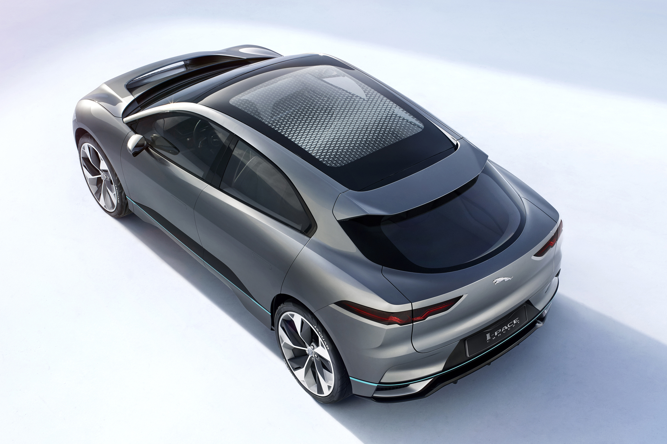 Jaguar I-PACE Concept - 2016 - top view / toit