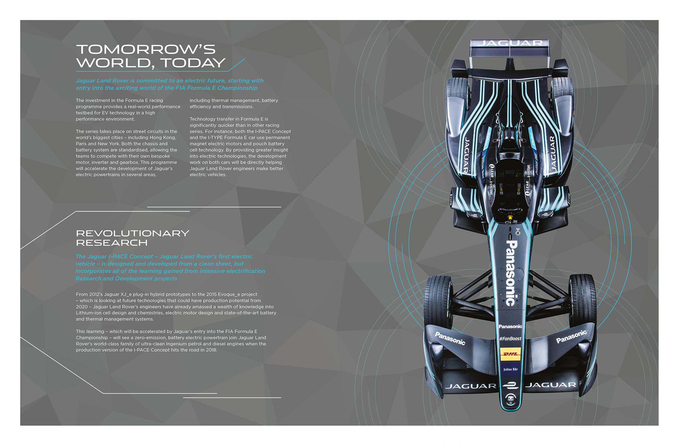 Jaguar I-PACE Concept - 2016 - Formula-E strategy