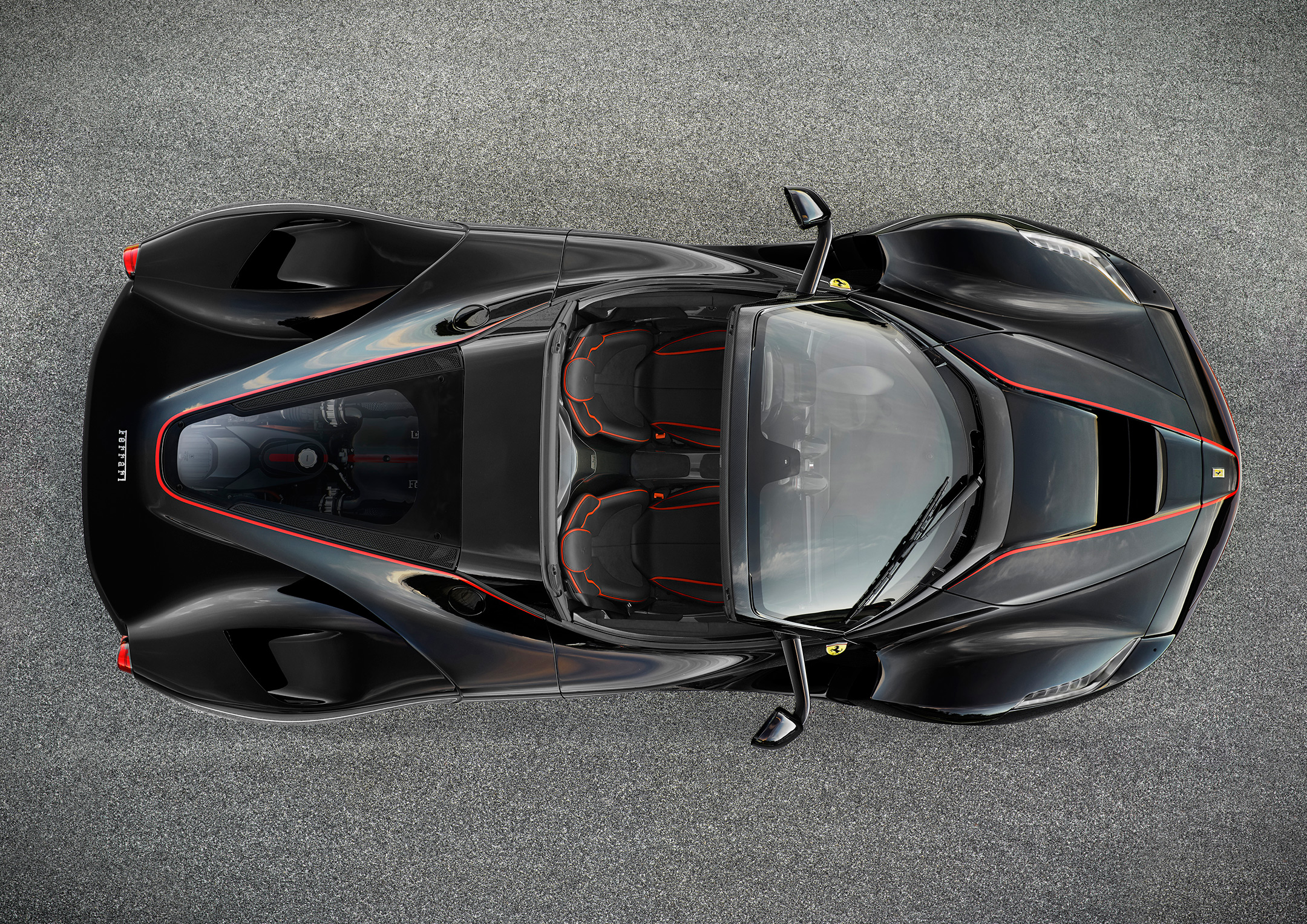 LaFerrari Aperta - 2016 - top view