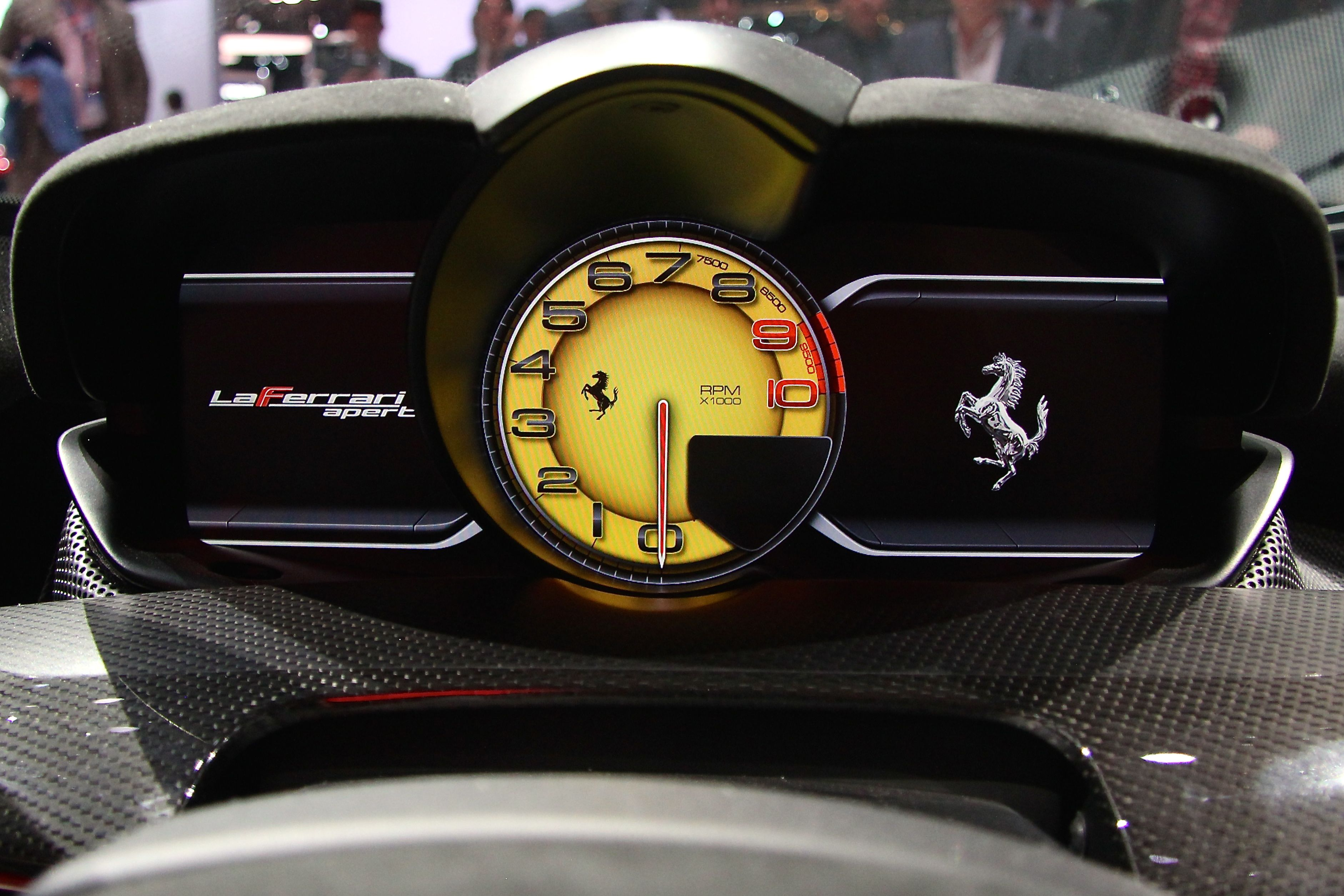 LaFerrari Aperta - 2016 - dashboard - 2016 - Mondial Auto - photo Ludo Ferrari