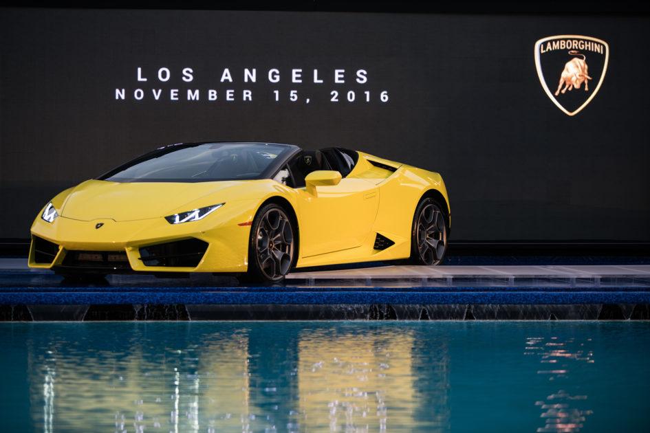 Lamborghini Huracán LP580-2 Spyder - Los Angeles Auto Show 2016