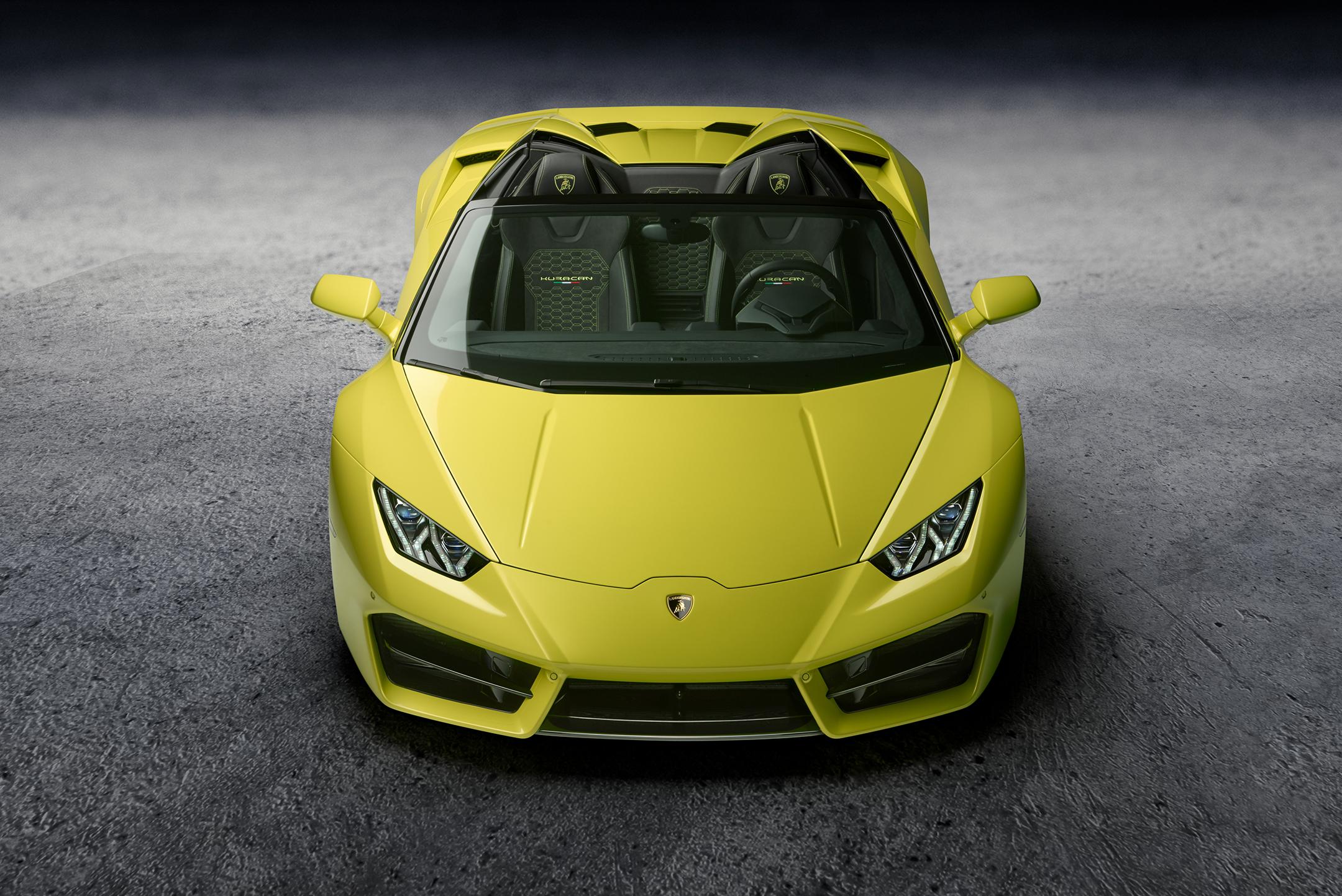 Lamborghini Huracán LP580-2 Spyder - avant / front