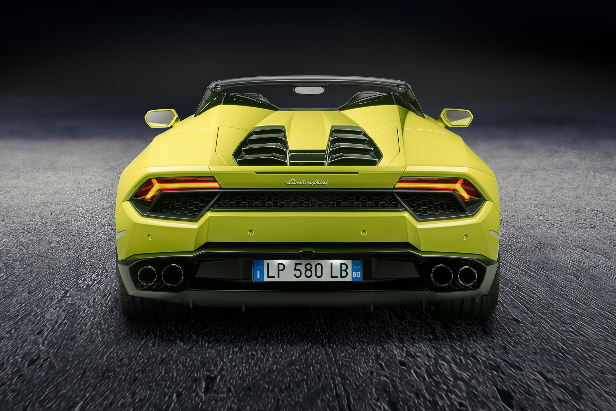 Lamborghini Huracán LP580-2 Spyder - arrière / rear