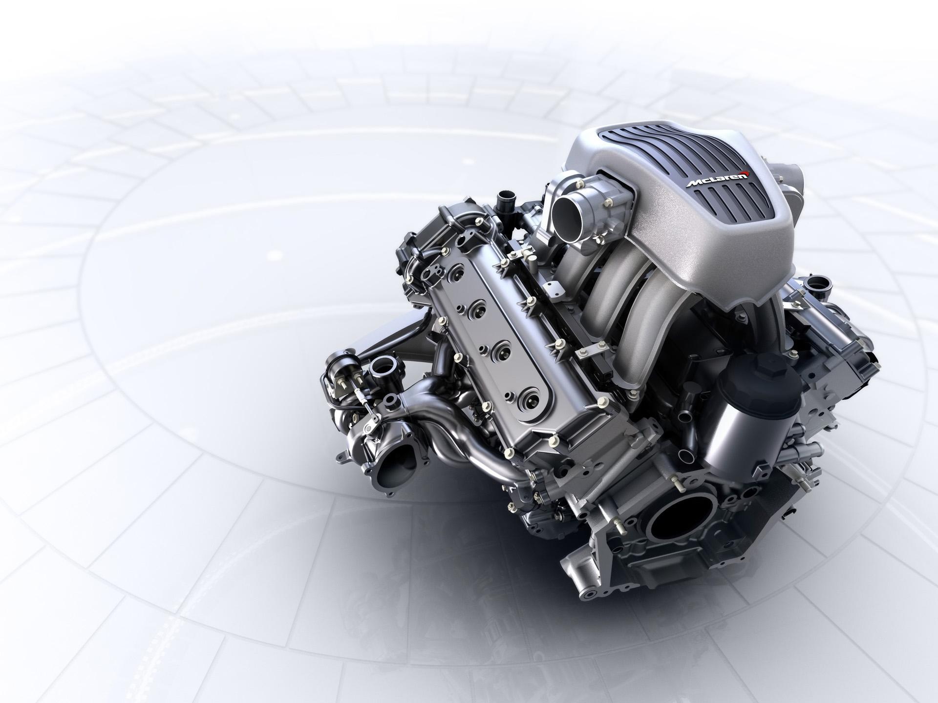 McLaren - engine / moteur - M838T from MP4-12C