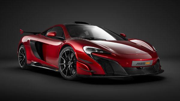 McLaren MSO HS - 2016 - front / avant
