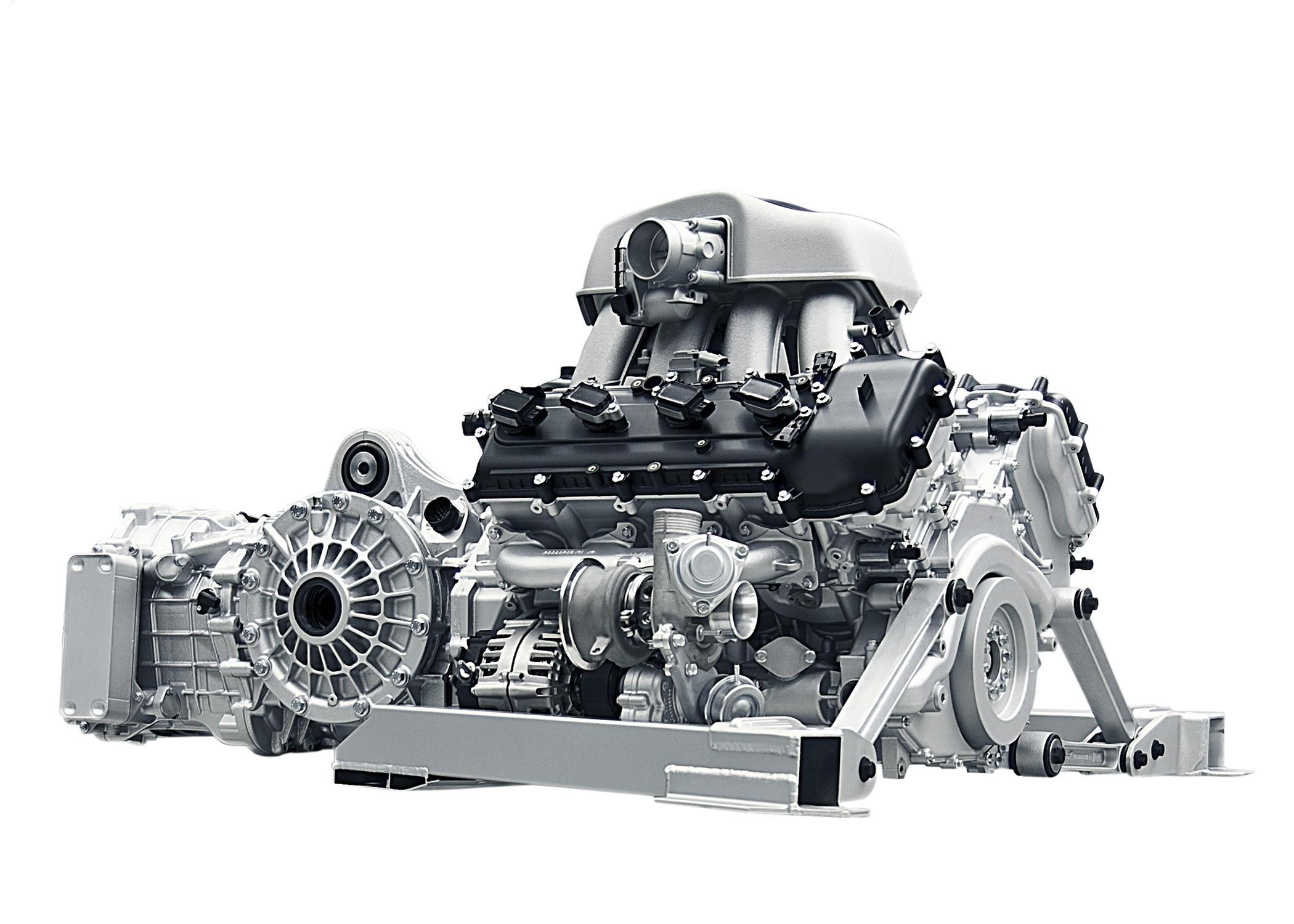 McLaren - engine / moteur - M838T