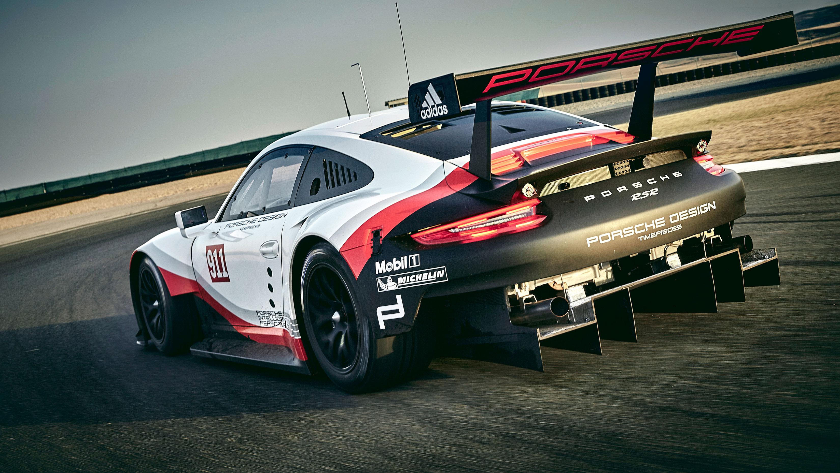 Porsche 911 RSR - 2017 - rear / arrière