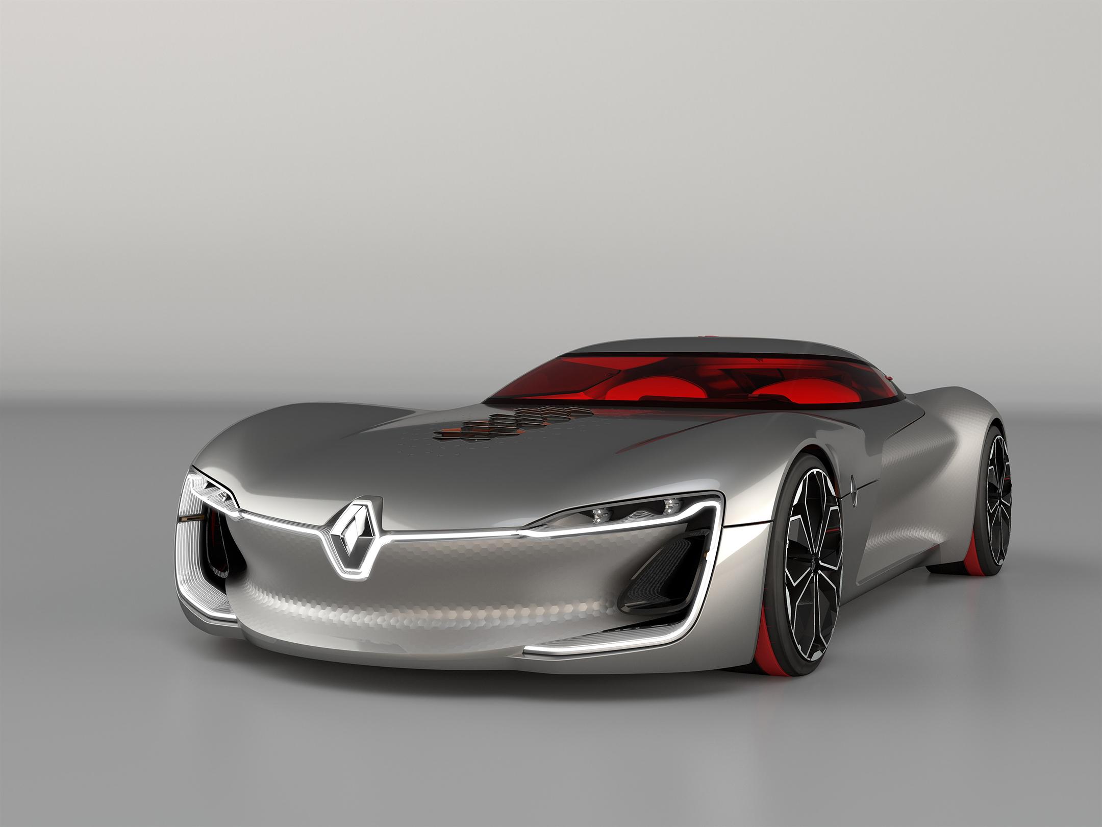 Renault TREZOR - 2016 - front side-face / profil avant