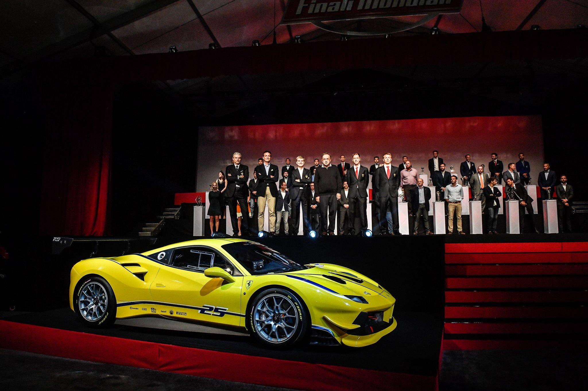Ferrari 488 Challenge - 2017 - cover