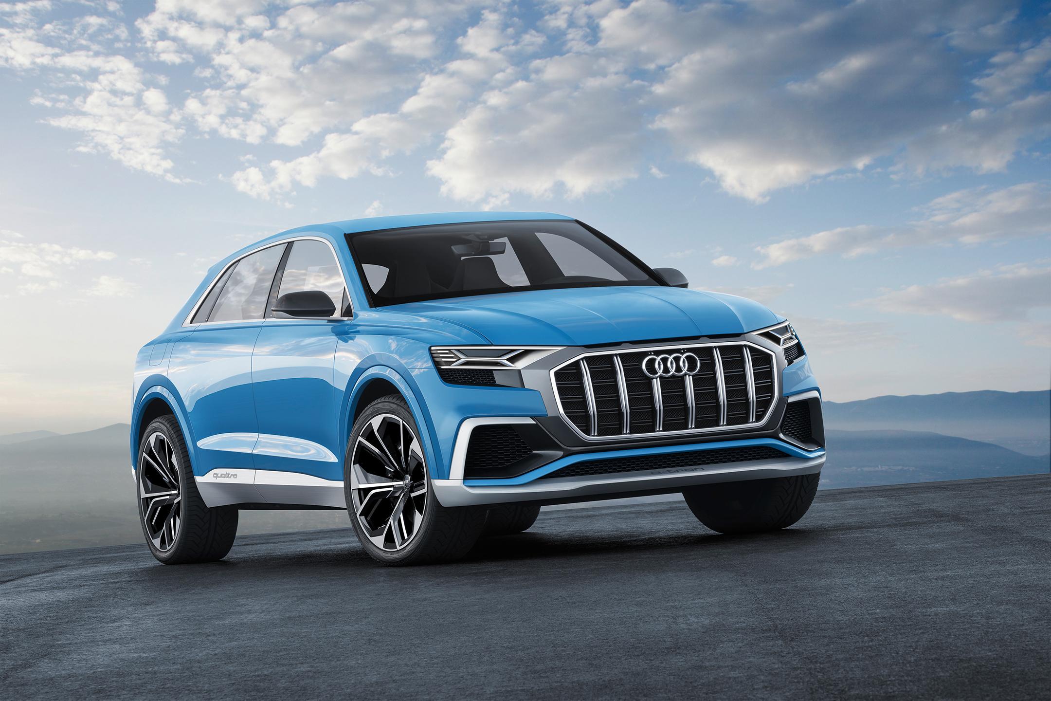 Audi Q8 concept - NAIAS 2017 - avant / front