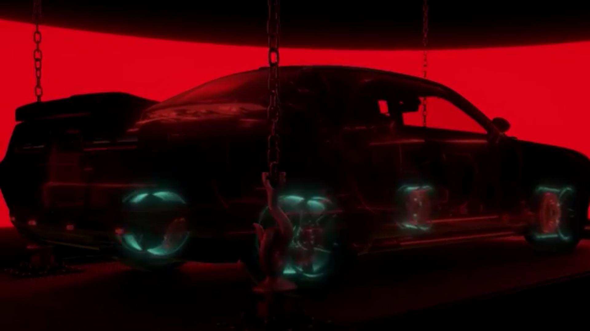 Dodge Challenger SRT Demon - 2017 - chassis - teaser