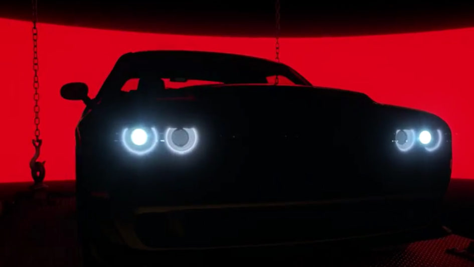Dodge Challenger SRT Demon - 2017 - teaser - cover