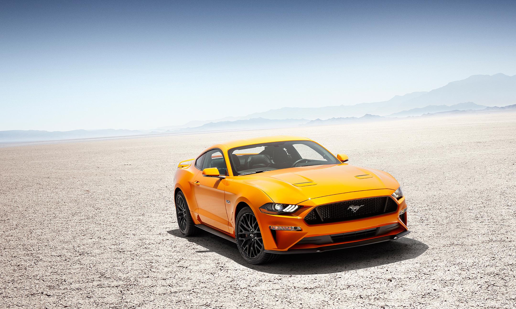 Mustang MY2018 - V8 GT - front / avant