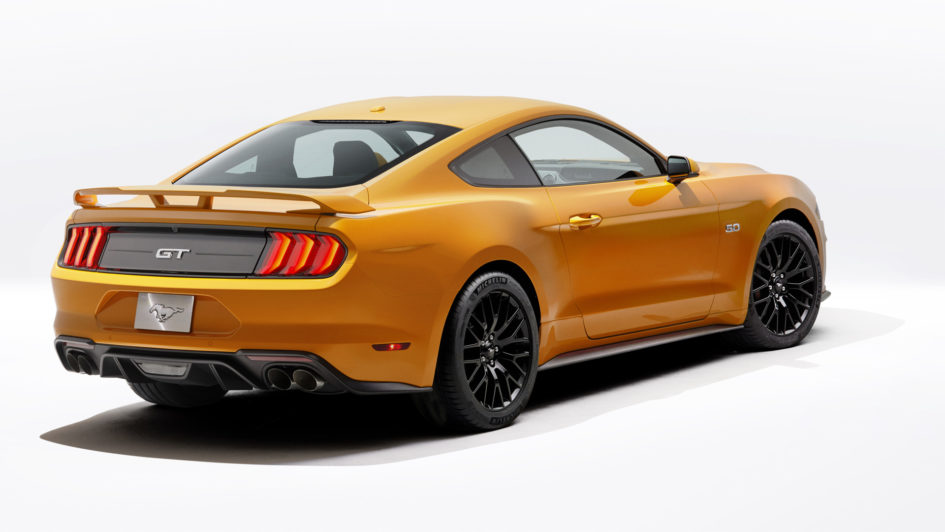 Mustang My2018 Restylage De The Pony Car W Ford Coyote V8 5 0l