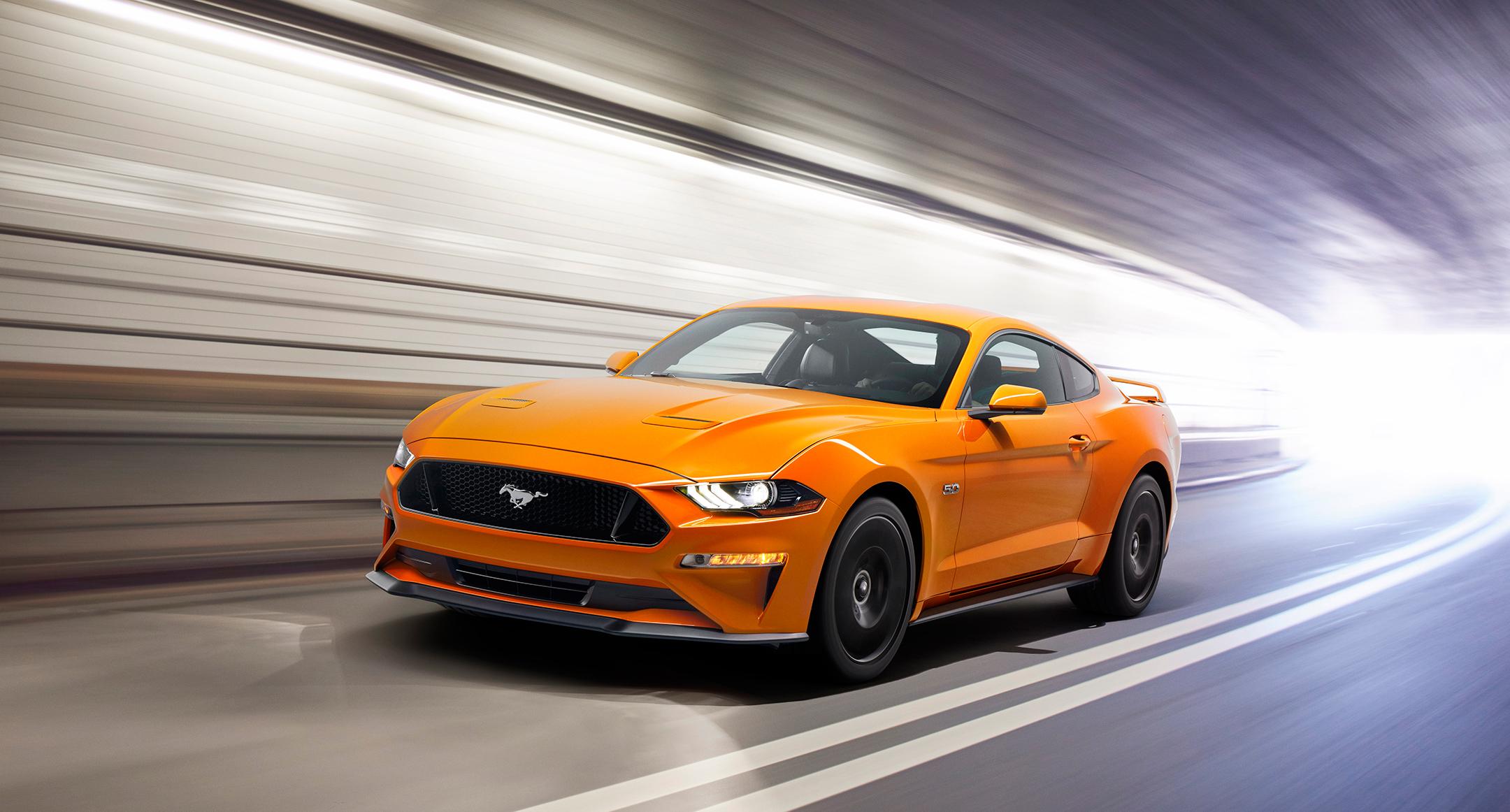 Mustang MY2018 - V8 GT - speed front light