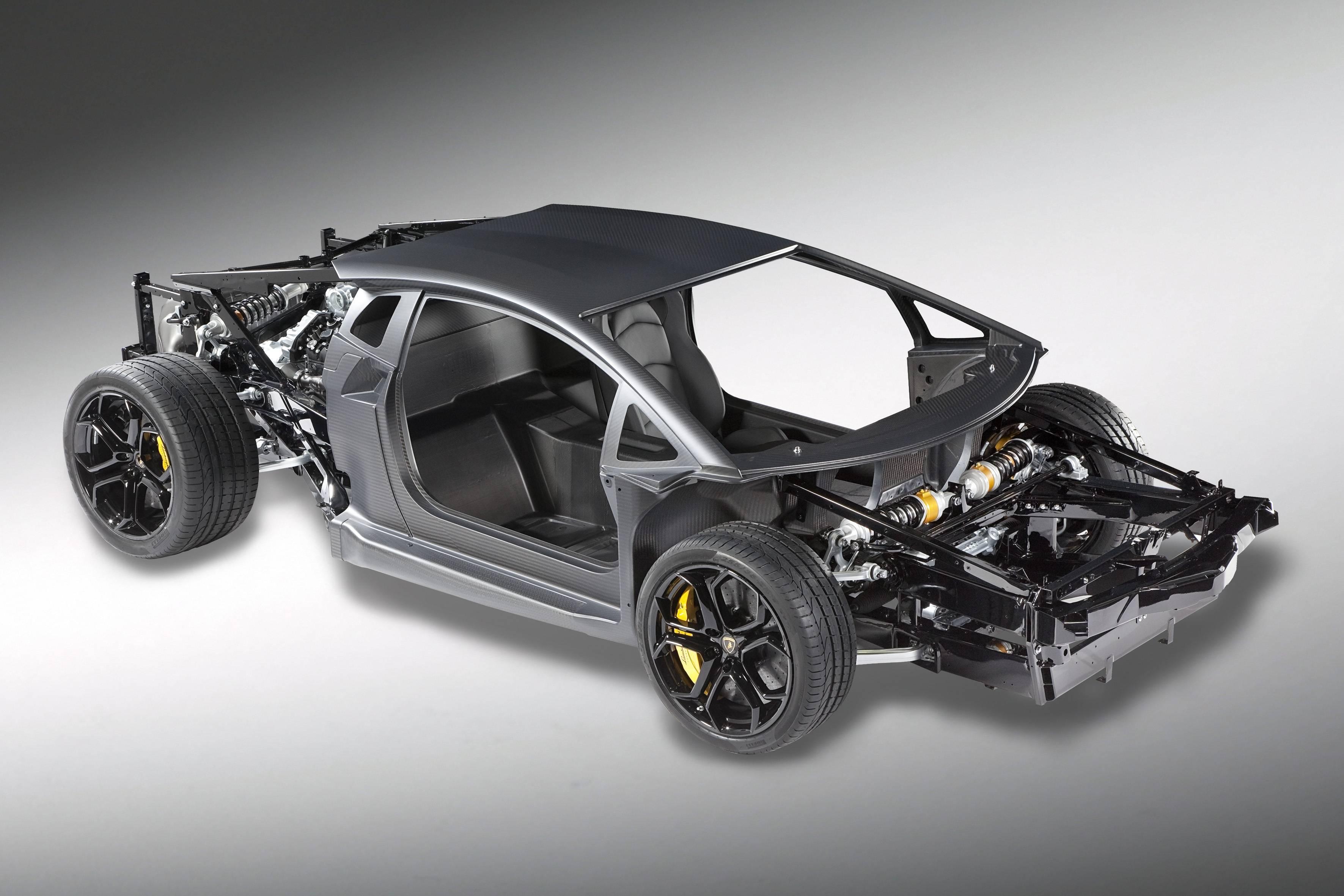 Lamborghini Aventador - chassis