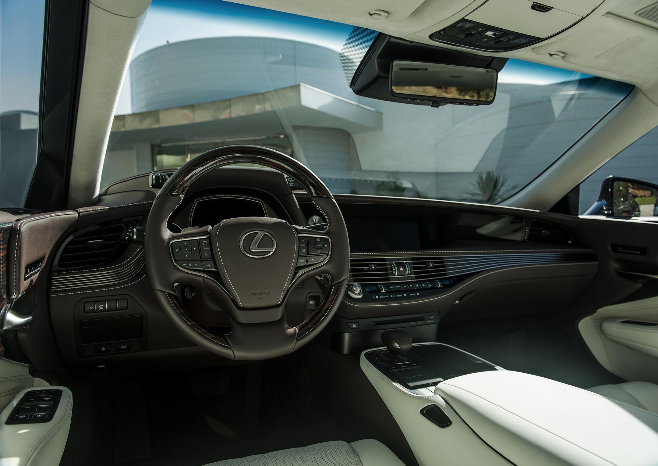 Lexus LS 500 - 2018 - interiror / intérieur