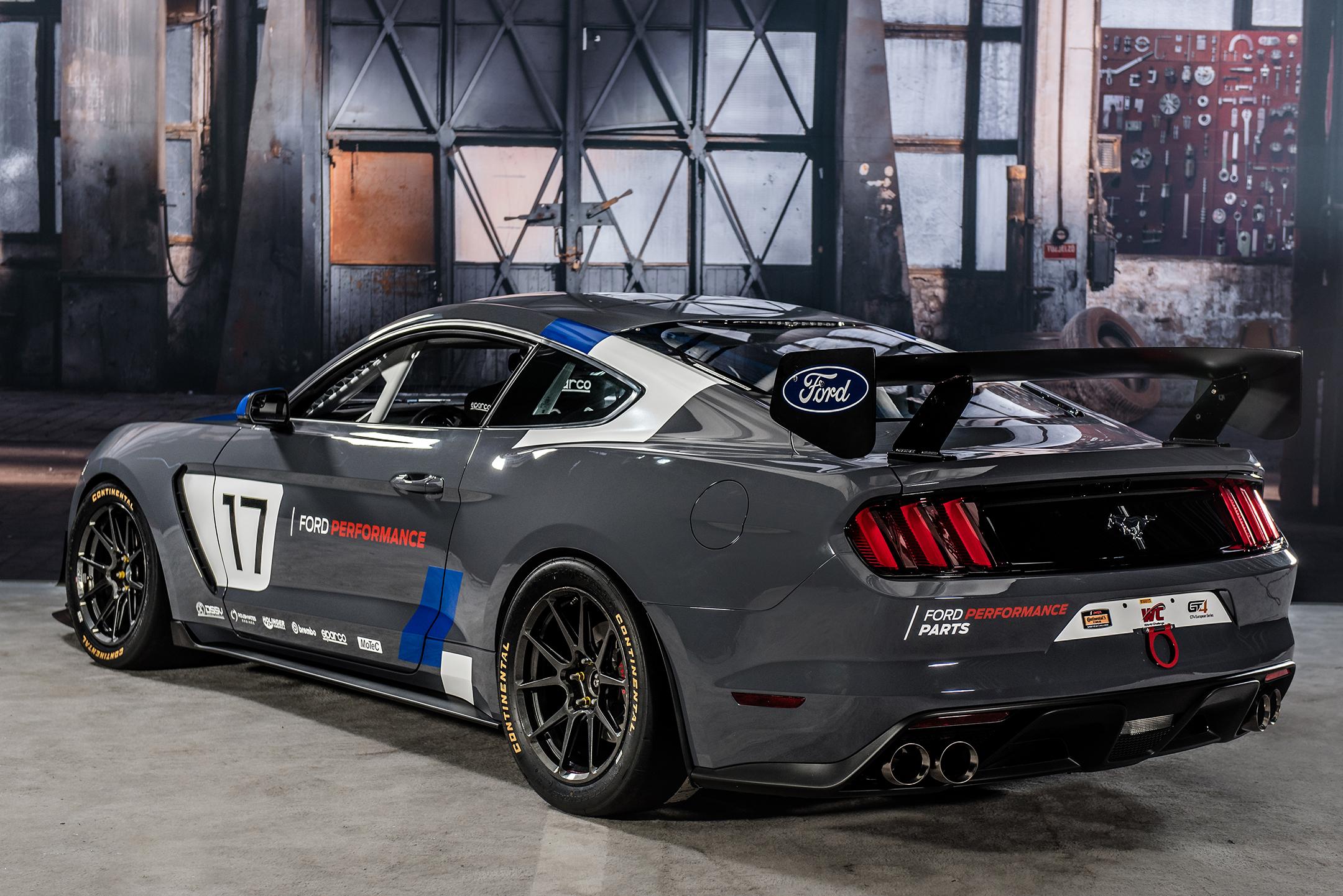 Mustang GT4 - 2017 - rear / arrière