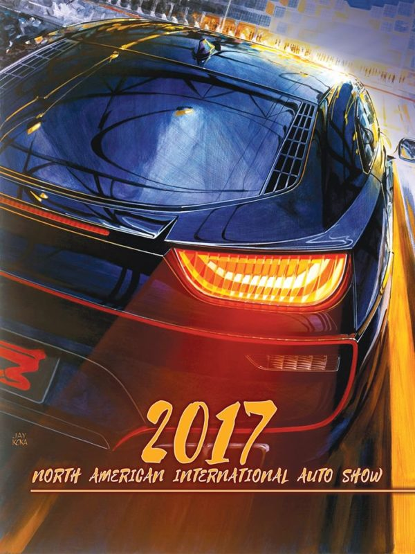 NAIAS 2017 - poster by Jay Koka Studio