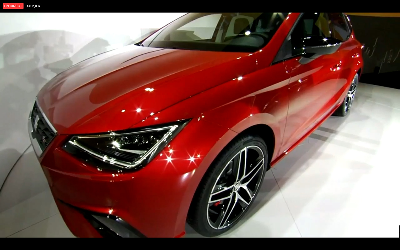 SEAT Ibiza 2017 - front light - live reveal