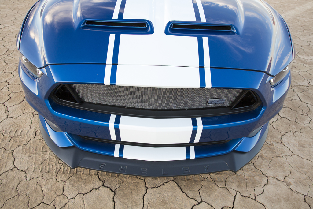 Shelby Super Snake - 2017 - front hood / calandre capot avant