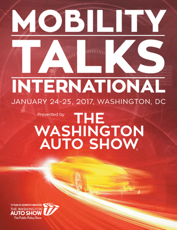 Washington Auto Show ‏2017 - poster