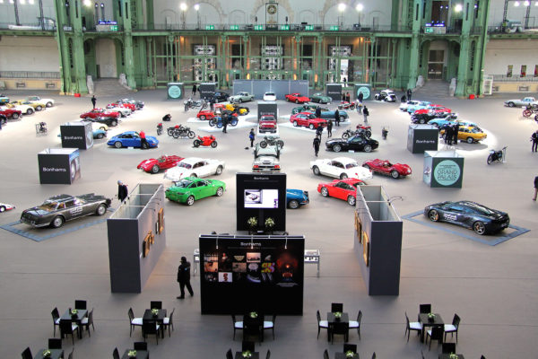 Bonhams 2017 - hall - Grand Palais - photo - Ludo Ferrari