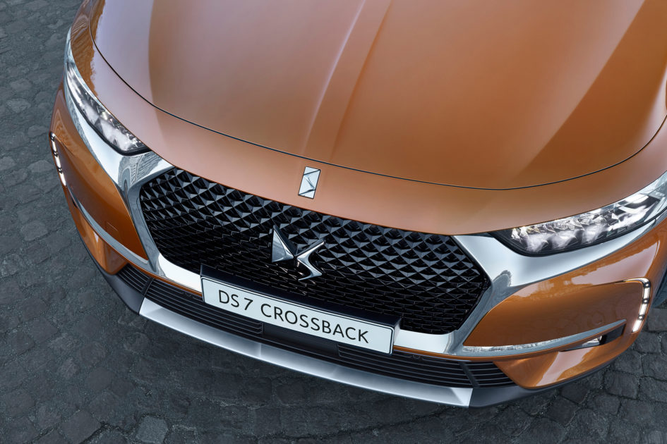 DS 7 CROSSBACK - 2017 - front DS Wings