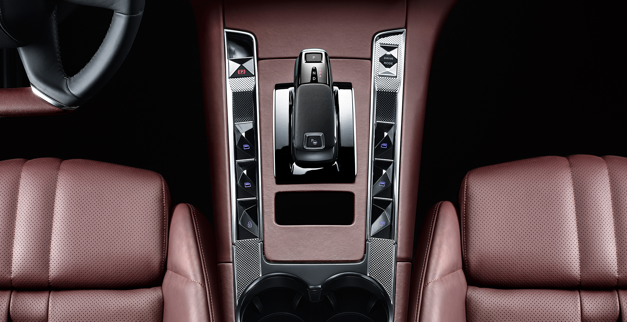 DS 7 CROSSBACK La Première - 2017 - intérieur / interior - gearbox