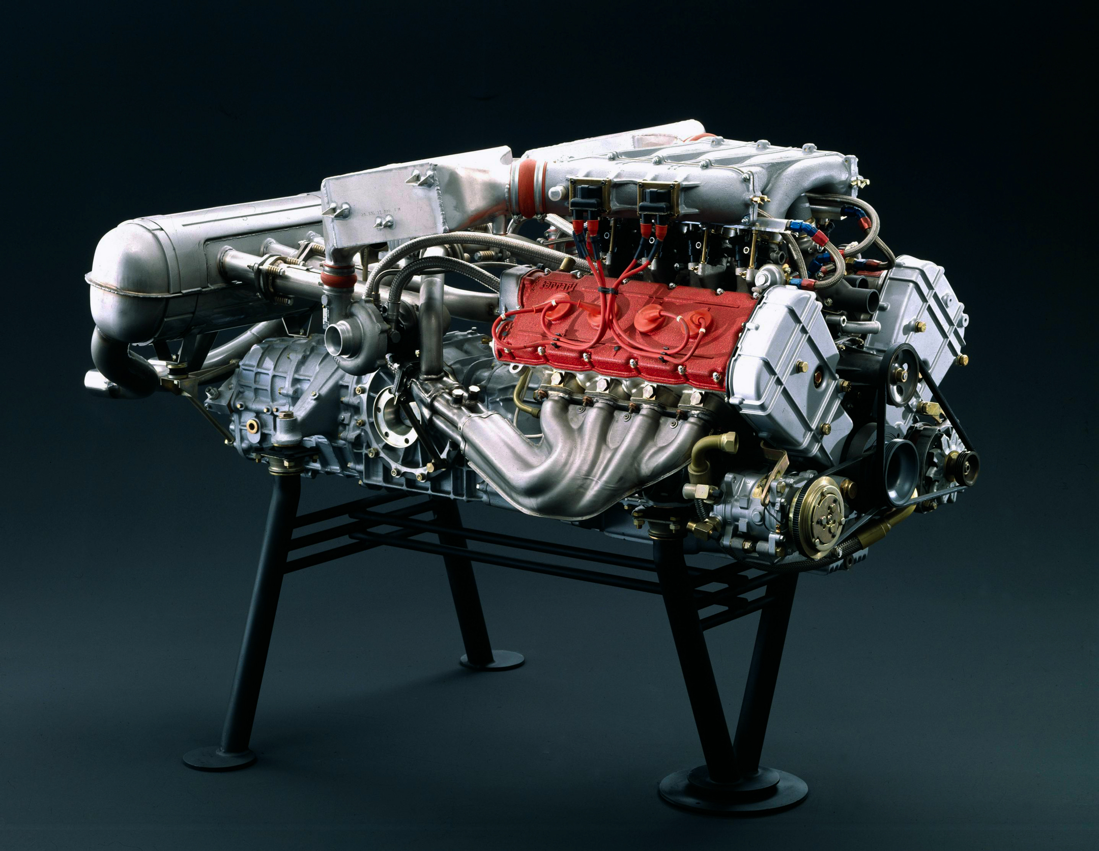 Ferrari F40 - engine / motore - Tipo F120A - 3.0L Twin Turbo V8