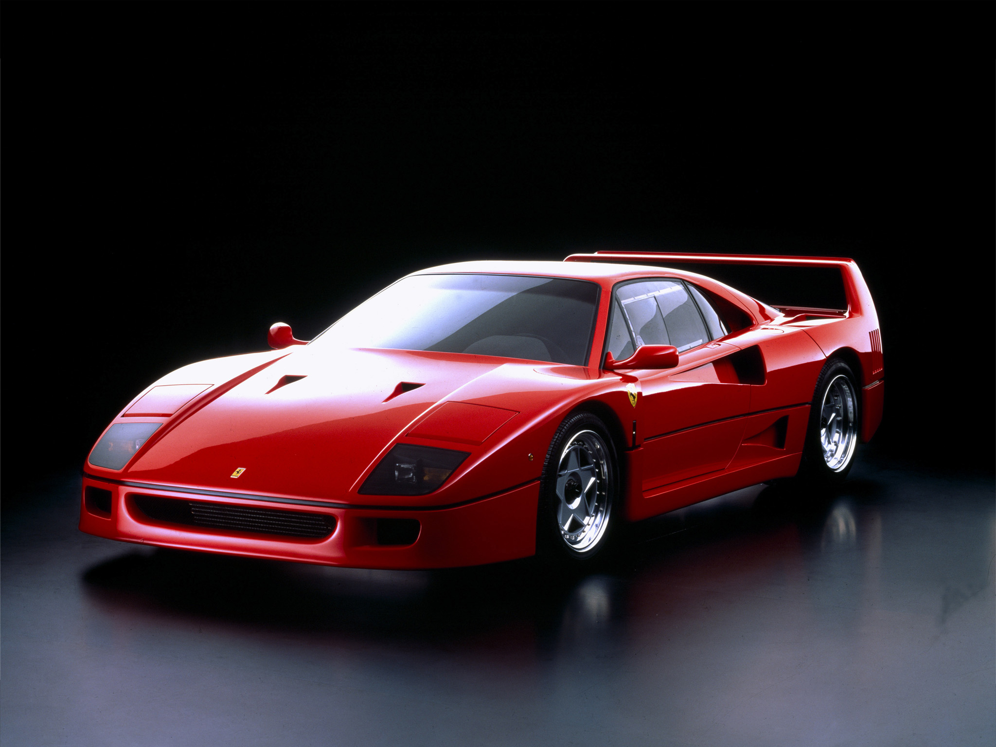 Ferrari F40 Prototipo - 1987 - front / avant