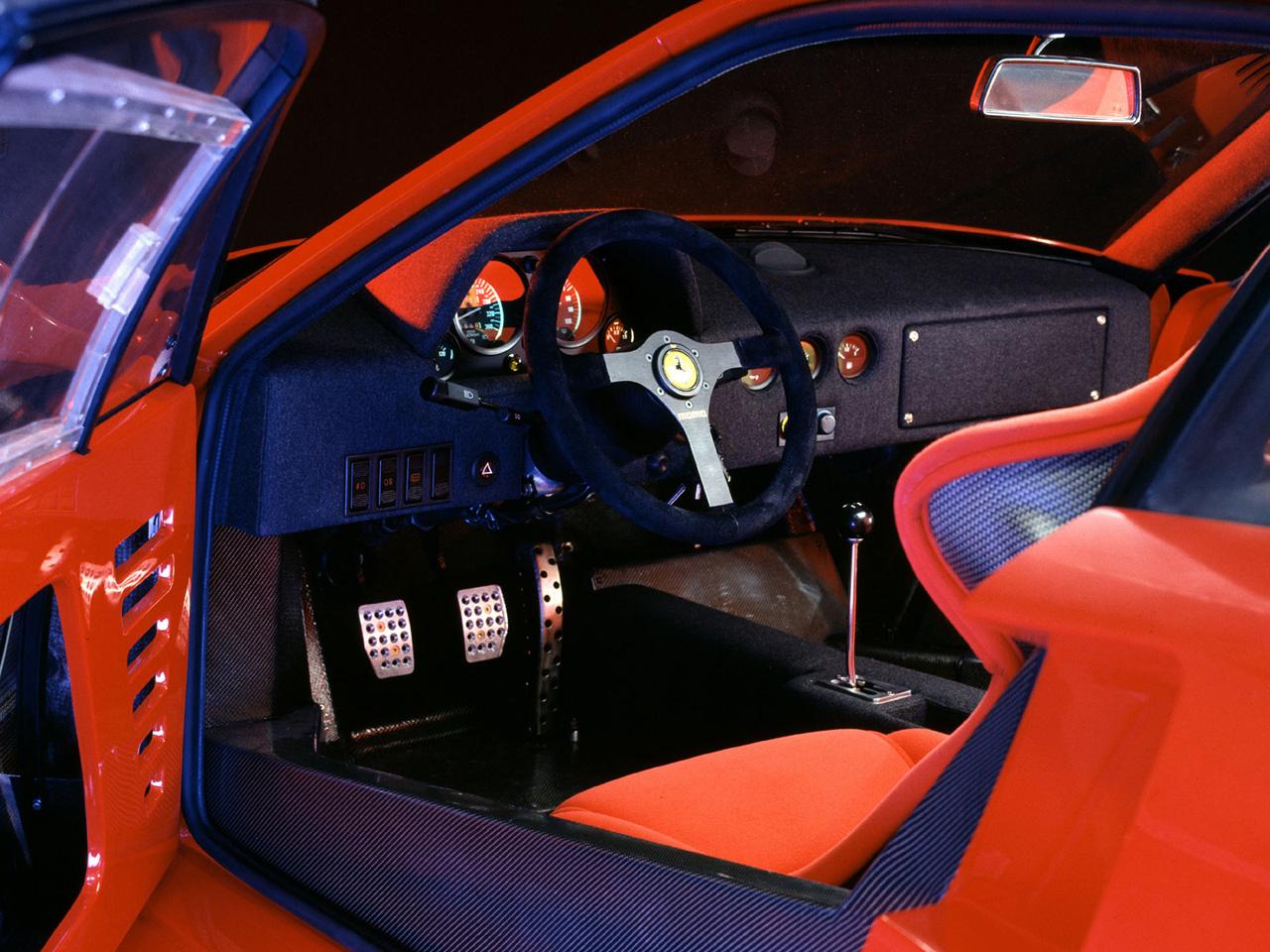 Ferrari F40 Prototipo - 1987 - interior / intérieur