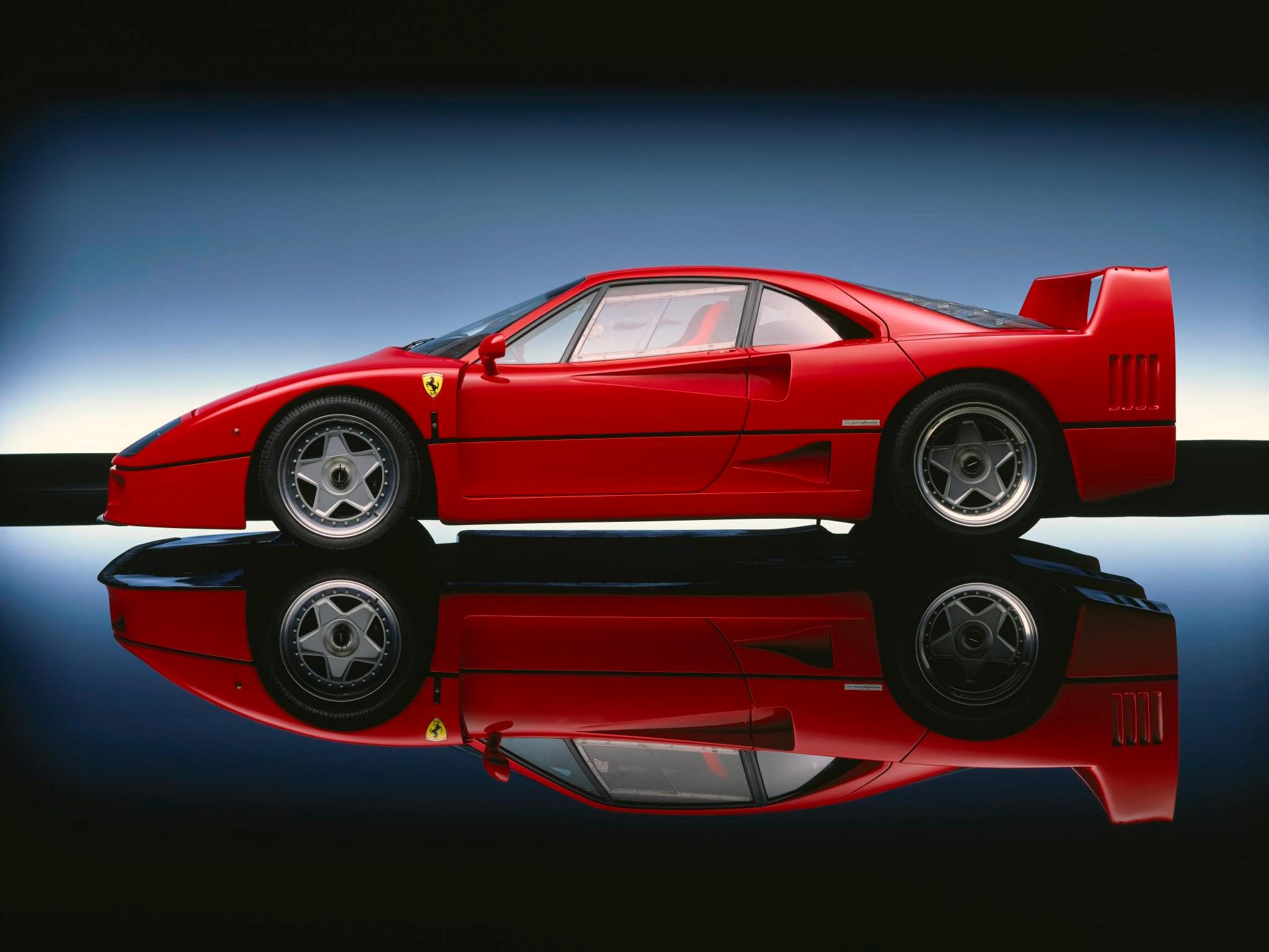 Ferrari F40 Prototipo - 1987 - side-face / profil