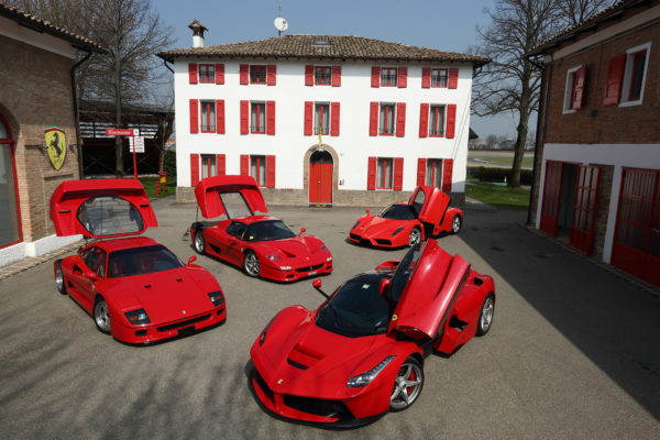 Ferrari heritage - supercars Maranello - photo Ferrari