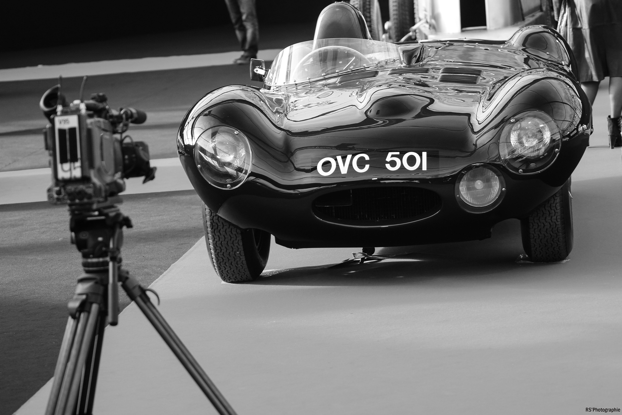 Jaguar D-Type - Mille Miglia 1957 - front-face - FAI 2017 - photo by Arnaud Demasier RS Photographie