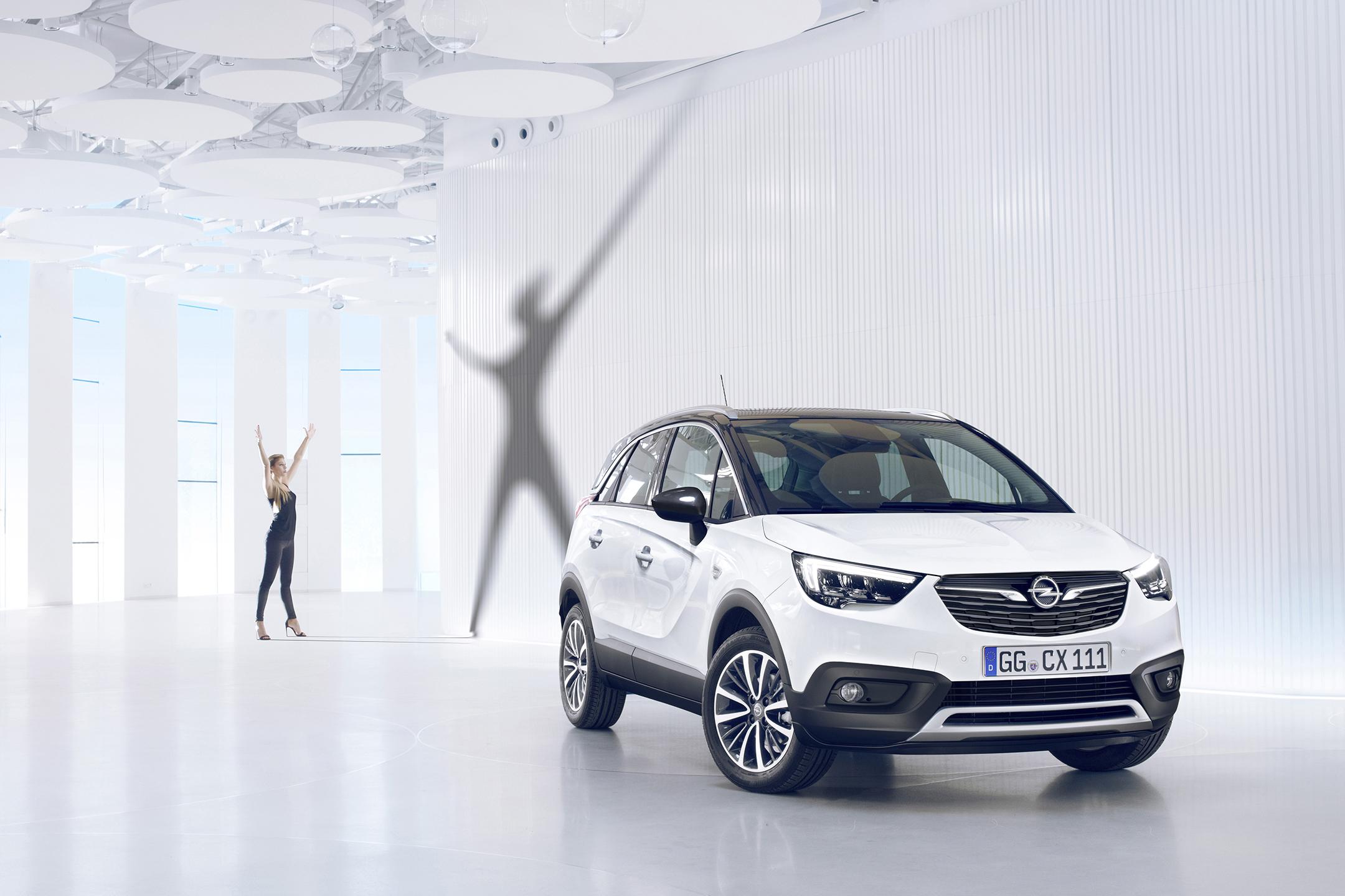 Opel Crossland X - 2017 - avant / front