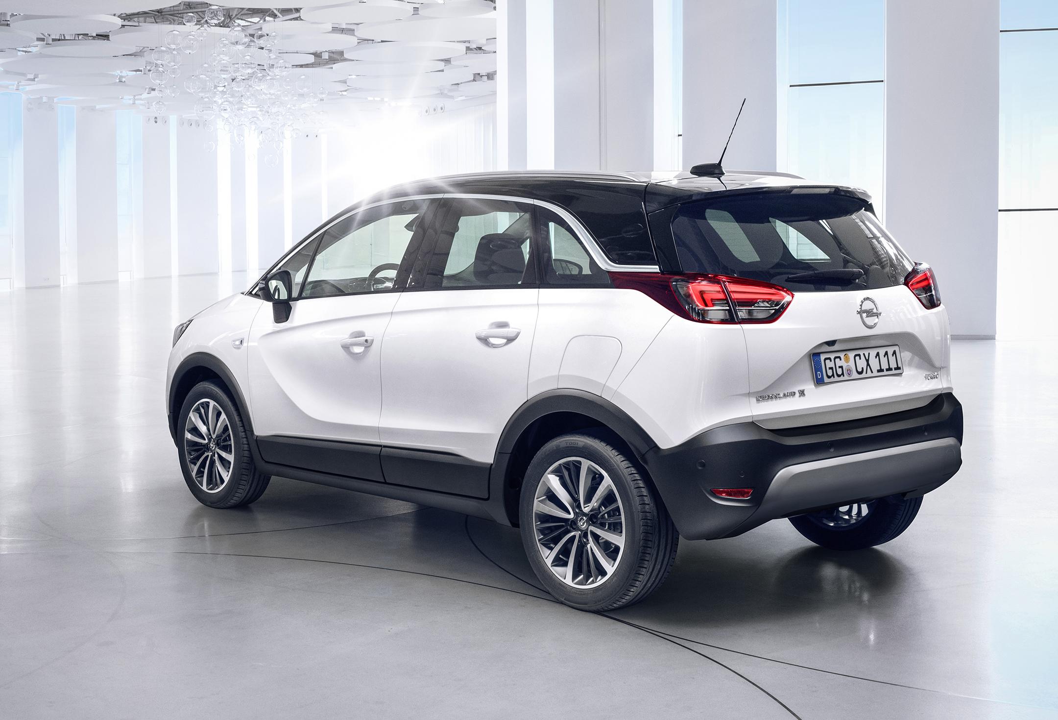 Opel Crossland X - 2017 - arrière / rear