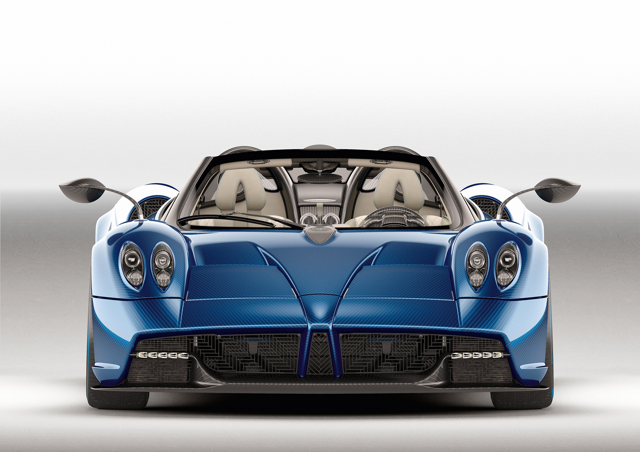 Pagani Huayra Roadster - 2017 - front-face / face avant