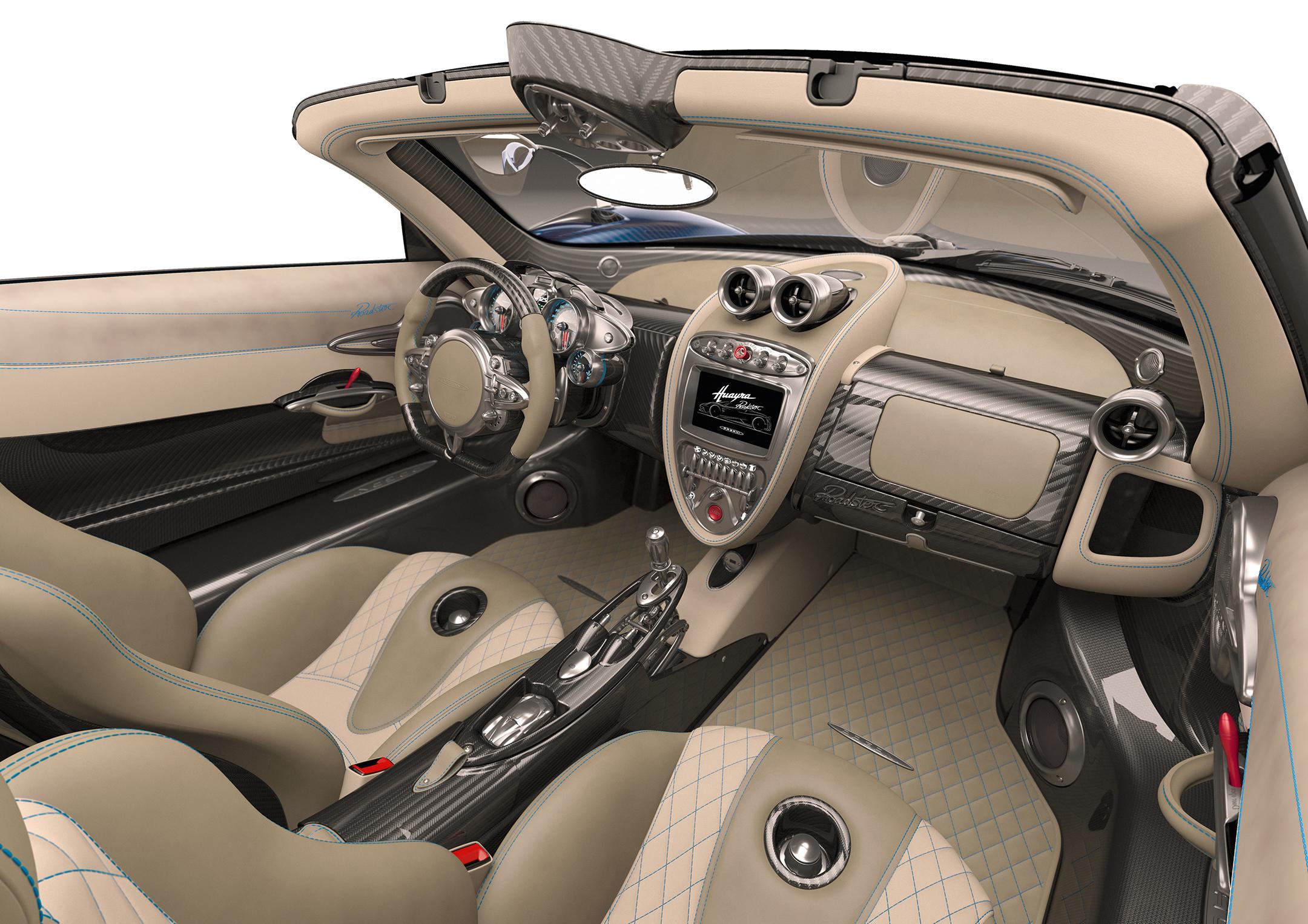 Pagani Huayra Roadster - 2017 - interior / intérieur