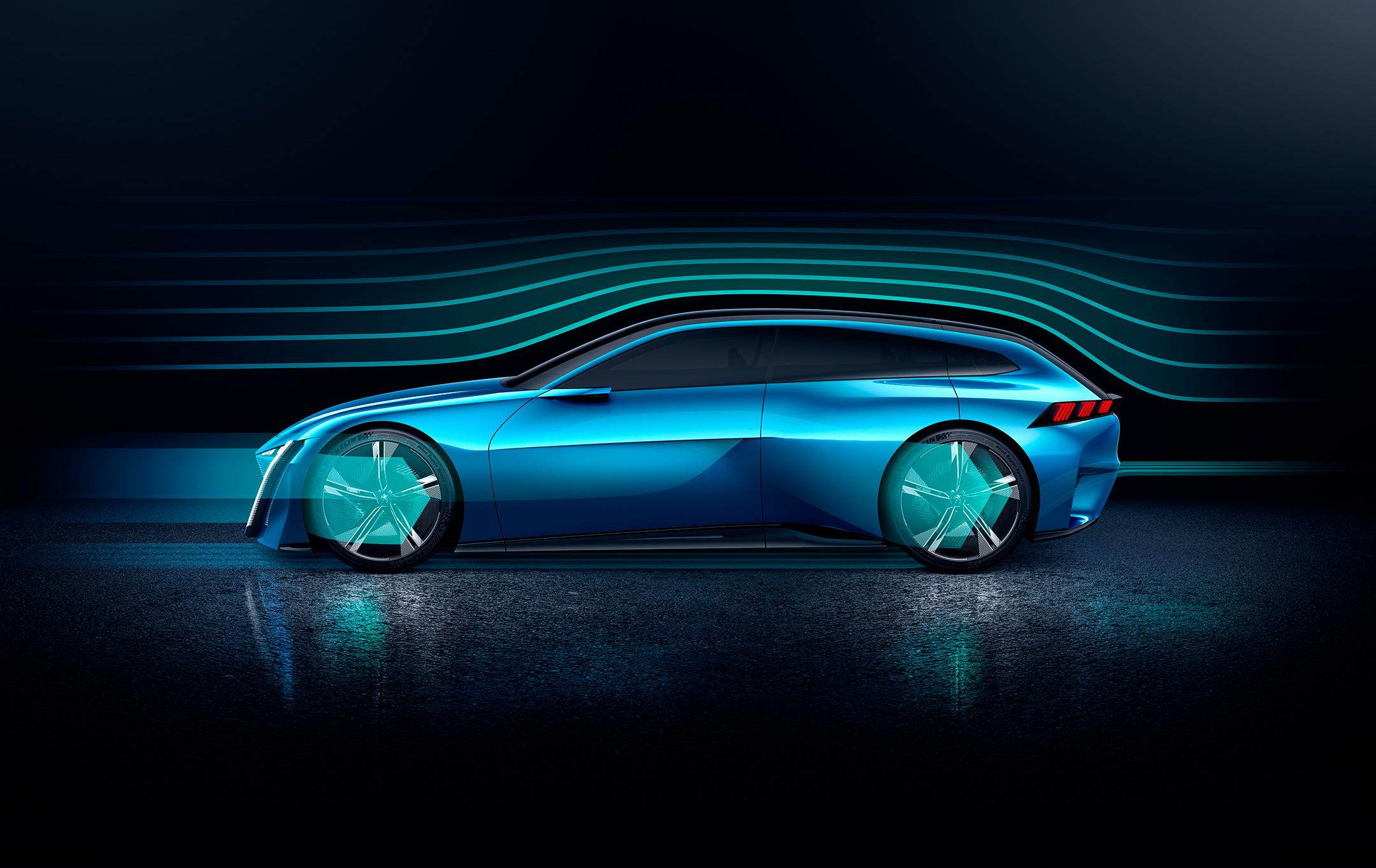 Peugeot Instinct Concept - 2017 - aerodynamic