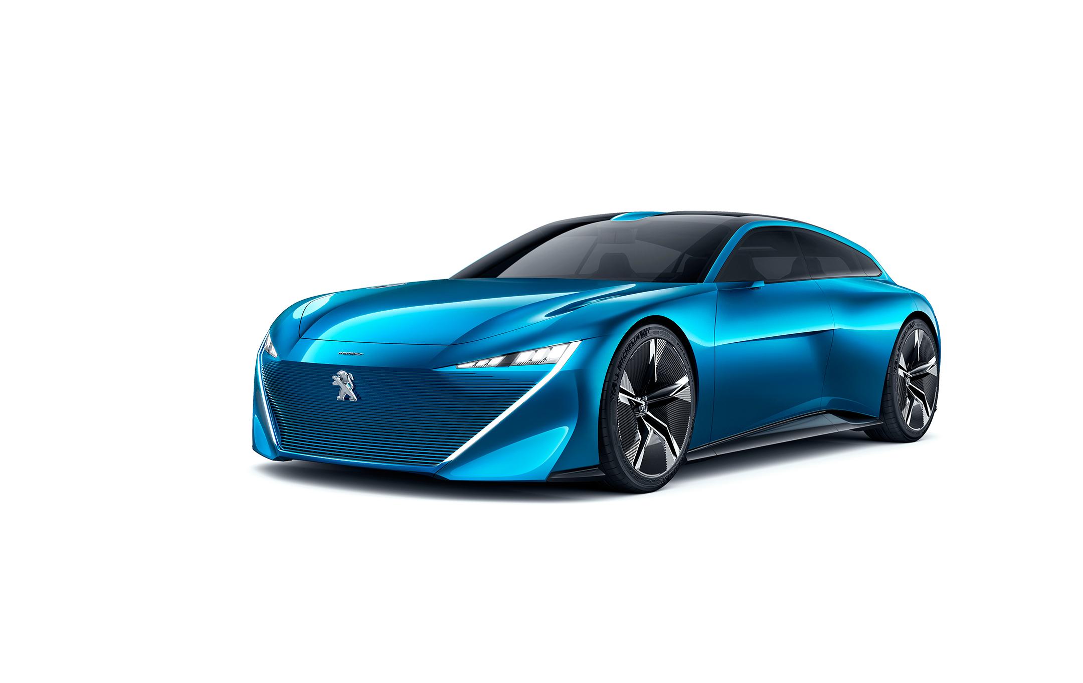 Peugeot Instinct Concept - 2017 - profil avant / front side-face