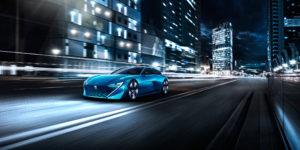 Peugeot Instinct Concept - 2017 - light road